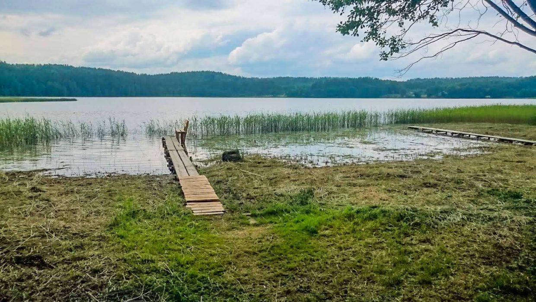 stovyklavietės nuoma prie ežero